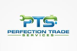 Logo for a sanitary services company