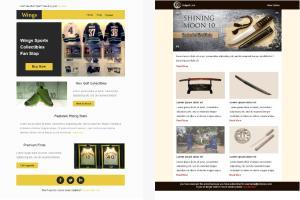Portfolio for Email Marketing, Eblasts, Design