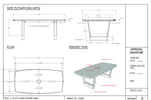 Portfolio for CAD Design (Architecture, furniture)