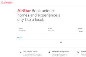 Portfolio for Airbnb Clone