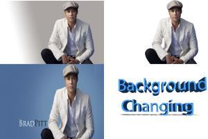 Portfolio for I will remove or change image background