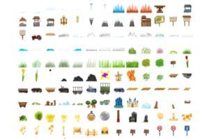 Portfolio for Create 2D Game assets