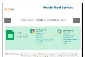 Google Sheet Services