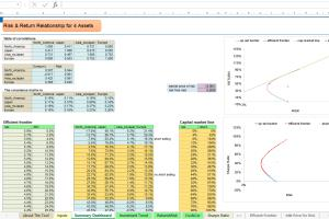 Portfolio for Optimization Using Excel Solver