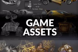 Portfolio for 3D Game Asset Creation