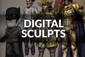 Portfolio for Digital Sculpting