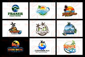 Sea & Sea Beach Logo