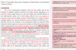 Portfolio for Scientific and Medical Editing