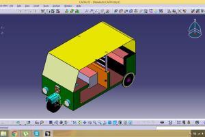 Portfolio for 3D Design, CATIA & Modeling.