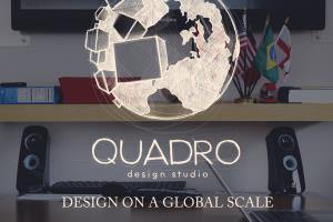 Portfolio for QUADRO design studio