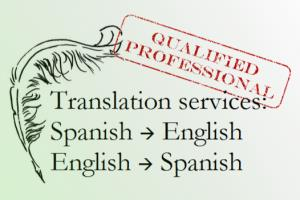 Portfolio for Translation services (Spanish>English)