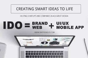 Portfolio for Creative Web, Mobile & Graphic Designer