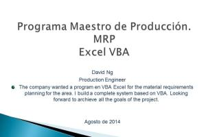 Portfolio for Excel Expert.