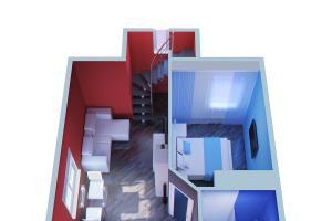 Portfolio for 3d floor plan. Photorealism