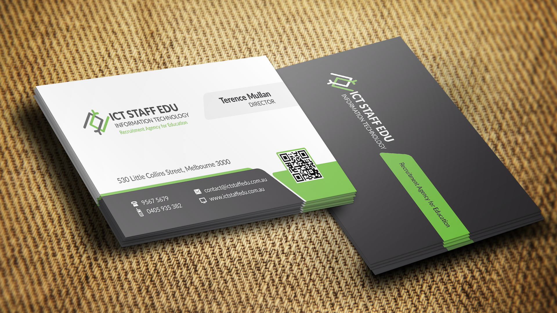 Business Card Design by NYCDevelopers on Guru