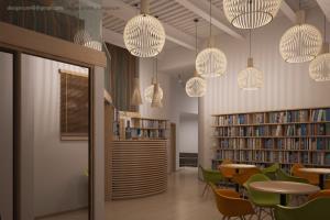 Portfolio for Commercial interior design, rendering