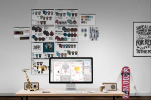 Portfolio for Fashion CAD illustration