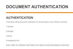 Portfolio for Document Verification