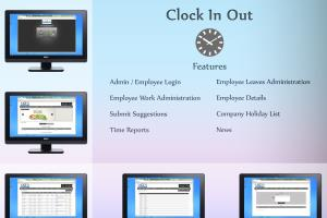 Clock In Out - Time Management Tool