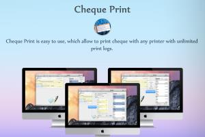 Print Cheque for Mac OSX