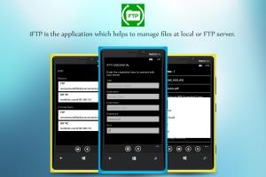 iFTP for Window Phone 8/8.1