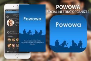 Android App -Powowa-Social Meeting Organiser