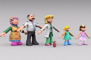Portfolio for 3D Character Modelling