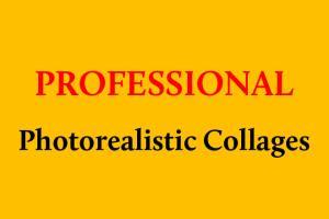 Portfolio for Professional Photorealistic Collages