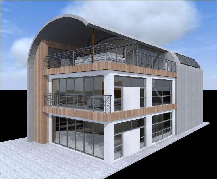 3 story steel frame house australia