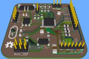Portfolio for PCB layout,Component footprint Library