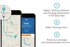 Portfolio for on-Demand Courier App