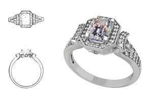 Portfolio for jewelry designer