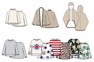 Portfolio for CAD Artist & Technical Fashion Design