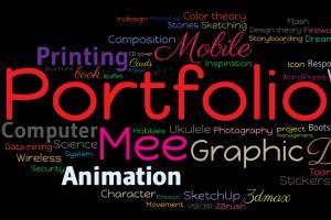 Portfolio for Graphic and Web designer