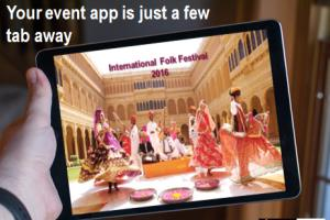Portfolio for Mobile App for Events