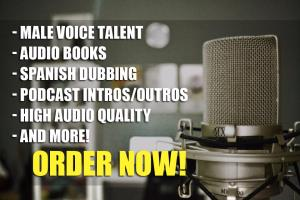 Portfolio for Professional Male Spanish Voice Over