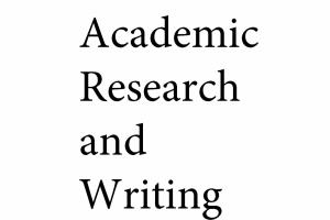 Portfolio for Research and Writing