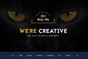 Portfolio for web designer and devloper