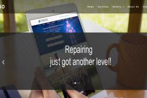 Sample HTML5 design with Parallax