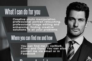 Portfolio for Professional personalized Facebook cover