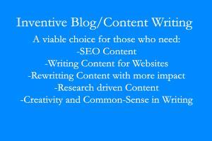 Portfolio for Inventive Content Writer