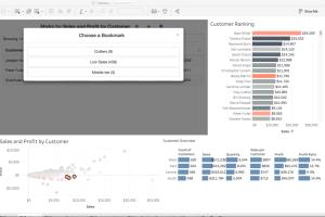 Portfolio for Tableau Data Visualization
