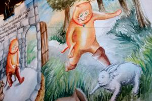 Portfolio for Book Illustration