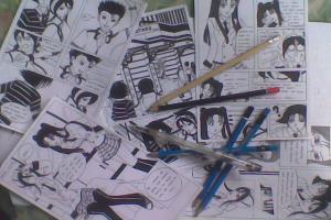 Portfolio for Manga / Comic Illustrator
