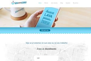 Portfolio for Laundry Service Website & Mobile Apps