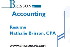 Portfolio for Accounting & bookkeping