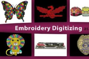 Portfolio for Embroidery Digitizers and Vector Artists