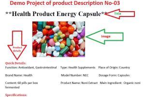 Portfolio for Article and Product Description writer