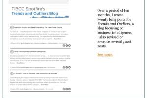Portfolio for Blogging and content writing