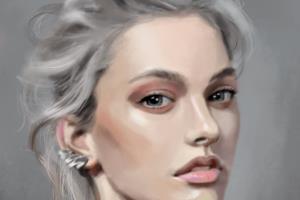 Portfolio for Digital painting portraits